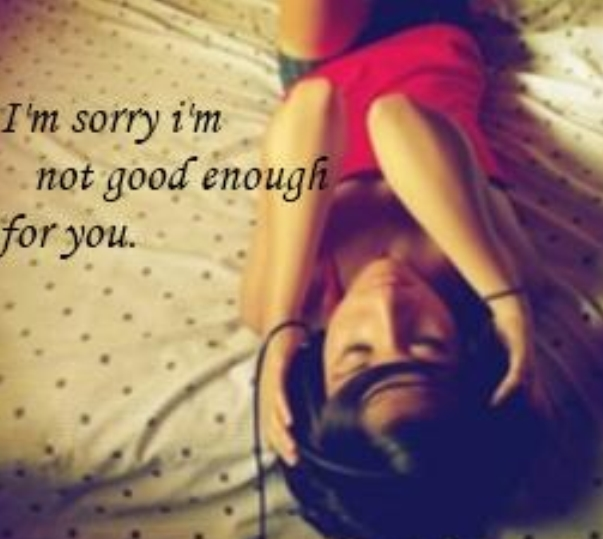 sorry not good enough
